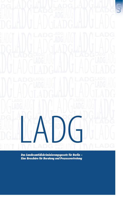 Das Landesantidiskriminierungsgesetz für Berlin – eine Broschüre für Beratung und Prozessvertretung (Titelbild)